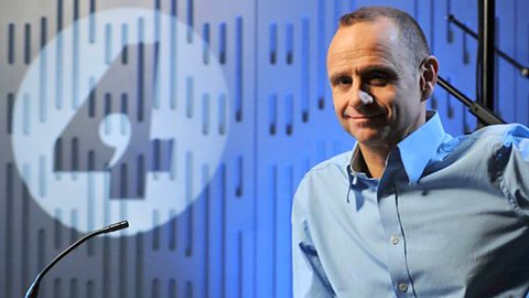 Evan Davis, host of Radio 4's 'The Bottom Line'
