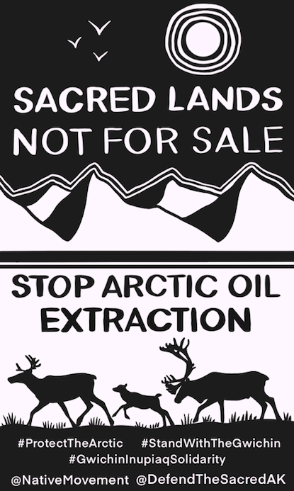 Artwork by Defend the Sacred Alaska